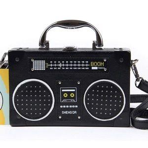 Vintage Radio Handbag NWOT